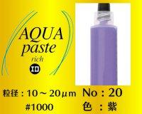アクアペースト リッチ 6g No.20 紫 10〜20μm  #1000