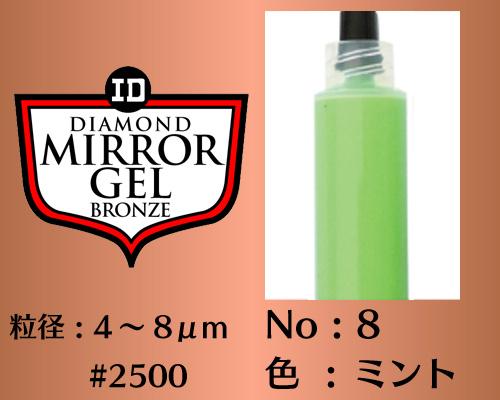 画像1: ミラージェル ブロンズ 12g No.8 ミント 4〜8μm  #2500
