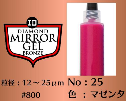 画像1: ミラージェル ブロンズ 12g No.25 マゼンタ 12〜25μm  #800