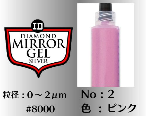 画像1: ミラージェル シルバー 6g No.2 ピンク 0〜2μm  #8000