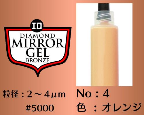 画像1: ミラージェル ブロンズ 6g No.4 オレンジ 2〜4μm  #5000