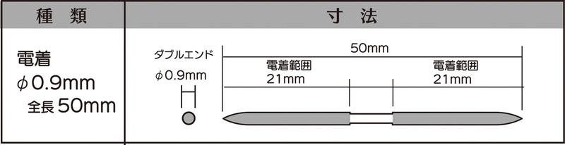 画像2: マイクロフィニッシュ 丸ヤスリ ショート   φ0.9mm #800 単品