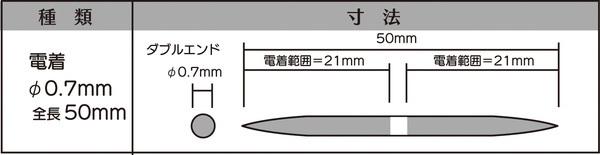 画像2: マイクロフィニッシュ 丸ヤスリ ショート   φ0.7mm #800 単品