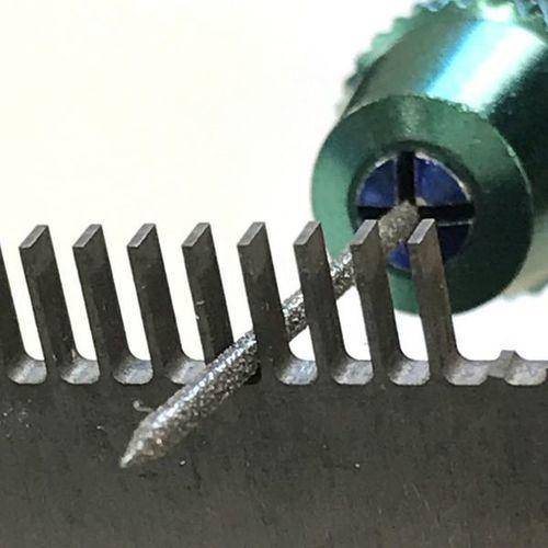画像3: マイクロフィニッシュ 丸ヤスリ ロング   φ0.7mm #800 単品