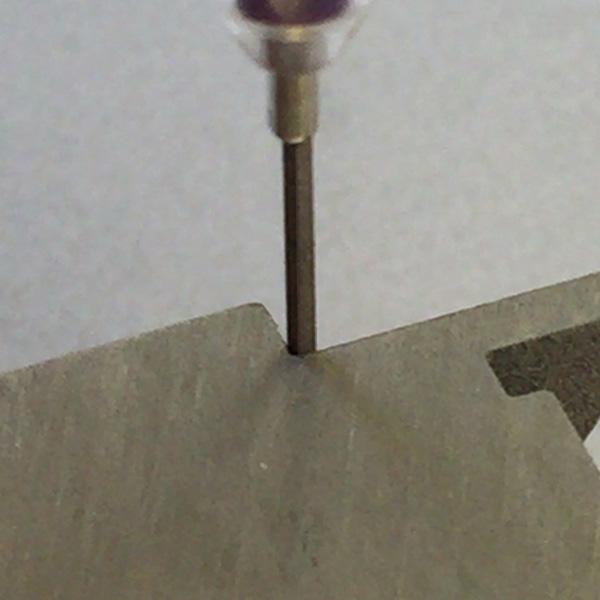 画像3: マイクロフィニッシュ 角ヤスリ ショート   □0.5mm #600 単品