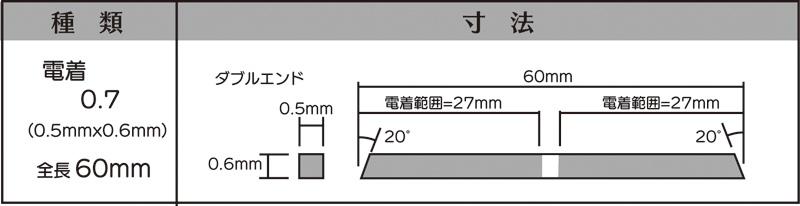 画像2: マイクロフィニッシュ 角ヤスリ ショート   □0.7mm #600 5本セット