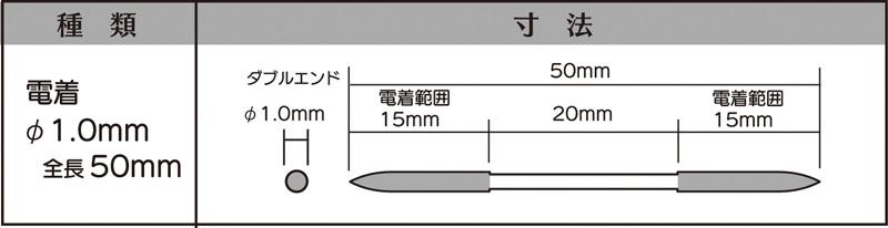 画像2: マイクロフィニッシュ 丸ヤスリ ショート   φ1.0mm #200 5本セット