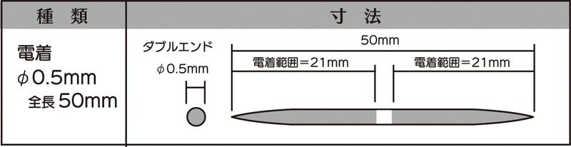 画像2: マイクロフィニッシュ 丸ヤスリ ショート   φ0.5mm #400 5本セット